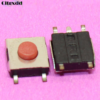 Cltgxdd 1 ~ 100 adet Dokunmatik ON/OFF push button anahtarı 6*6*3.1 m 5pin SMD tactbile puch Mikro Red button Anahtarı 6x6x3.1mm beş metre SMD