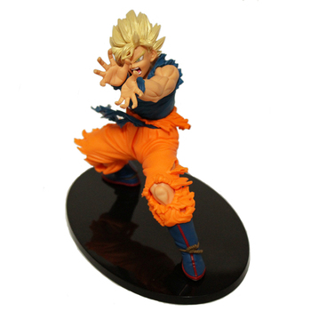 18 CM Anime Dragon Ball Z Son Goku PVC Banpresto Dragon Ball Z Master Yıldız Adet MSP Action Figure Süper Saiyan Modeli Doll oyuncak